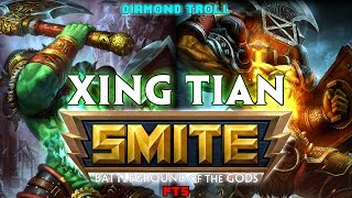 Smite: Mouth Belly!- Xing Tian PTS Jungle Gameplay