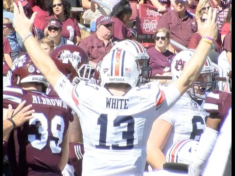 Auburn football wins big at Mississippi State Eagle Eye TV Recap
