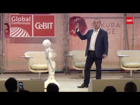 "Live Demonstration ""Pepper, the 1st humanoid robot capable of recognizing main human emotions"""