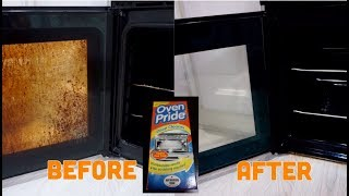 HOW TO CLEAN OVEN USING OVEN PRIDE DEEP CLEANER