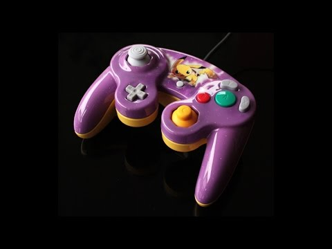 WN - custom pikachu gamecube controller