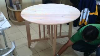 Gate Leg Table By Pks_vid03