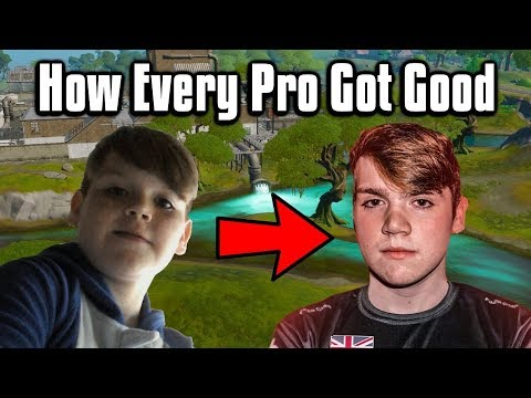 How Every Pro Got Good At Fortnite!