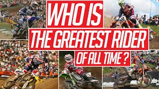 Who Is The Best Motocross Rider Of All Time? | THE PLUG EP1 Video