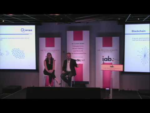 Alanna Gombert, IAB Tech Lab, asks Richard Bush, NYIAX, about BlockChain