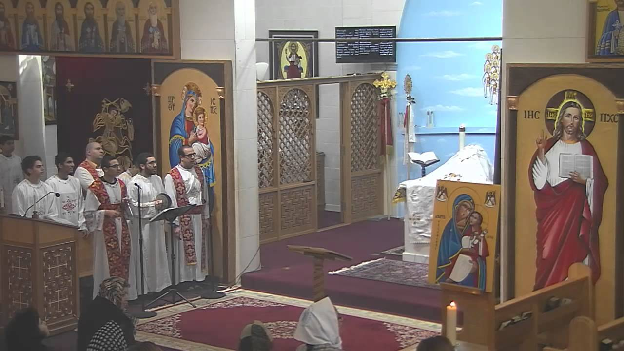 Explanation of a Coptic Orthodox Liturgy
