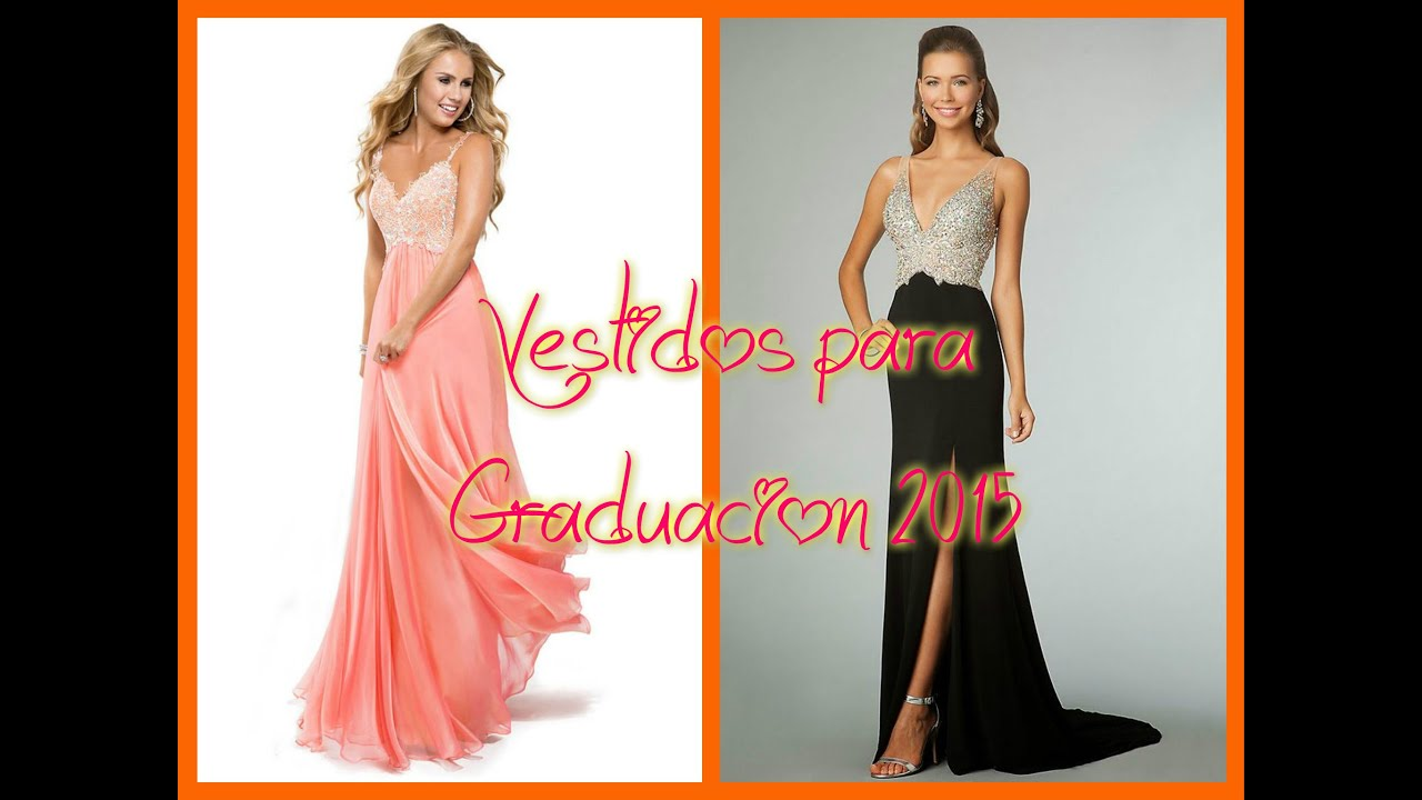 Vestidos para graduacion 2015