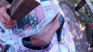 Ремонт Обуви.Набойки Металлические на Женскую Обувь.