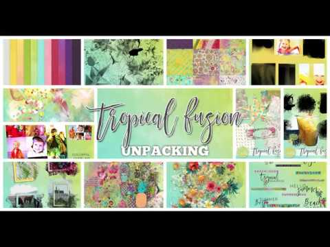 Tropical Fusion - UNPACKING - by NBK-Design