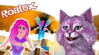 école princesse fées et sirènes dans robloks #4 Royale lycée roblox CAT LANA-sirène?