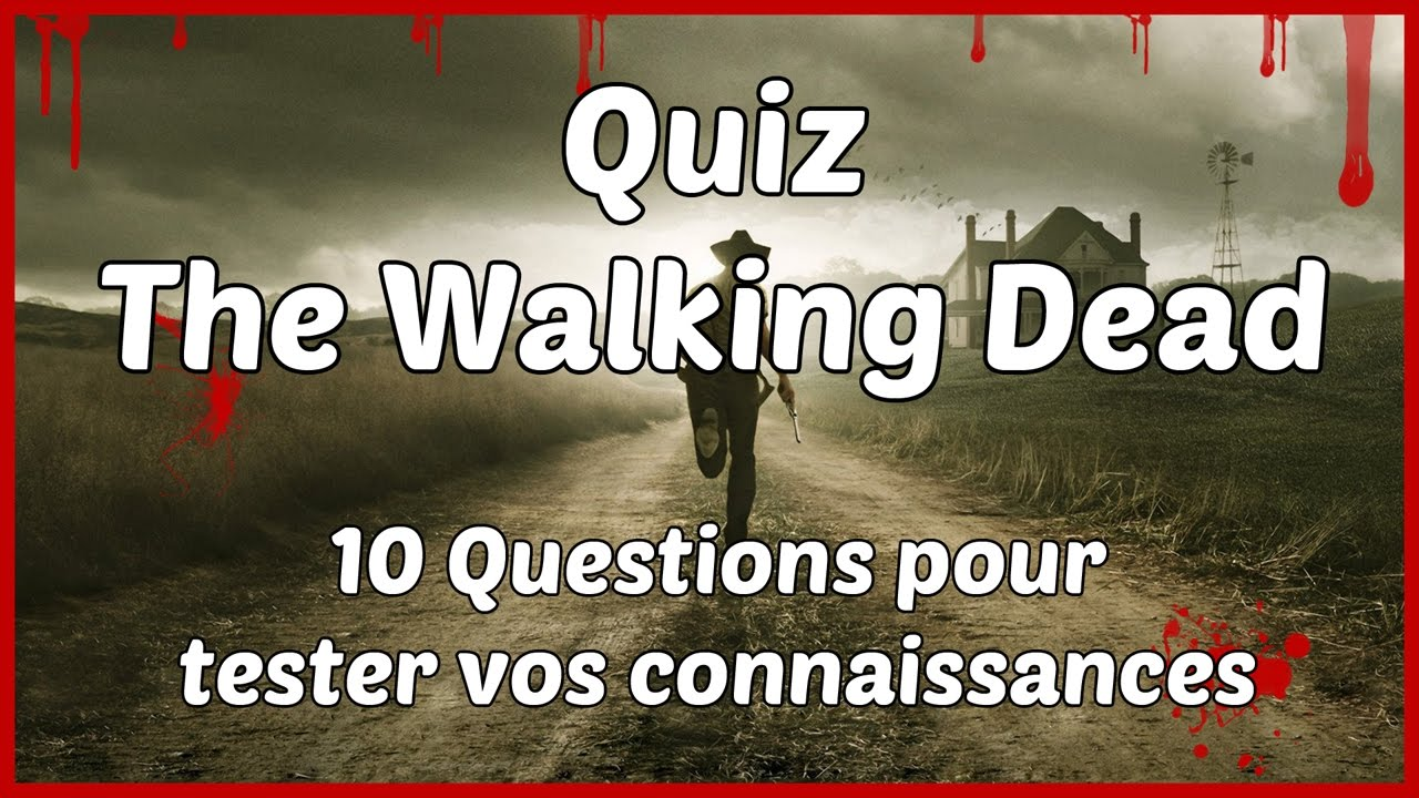 Walking Dead Quiz
