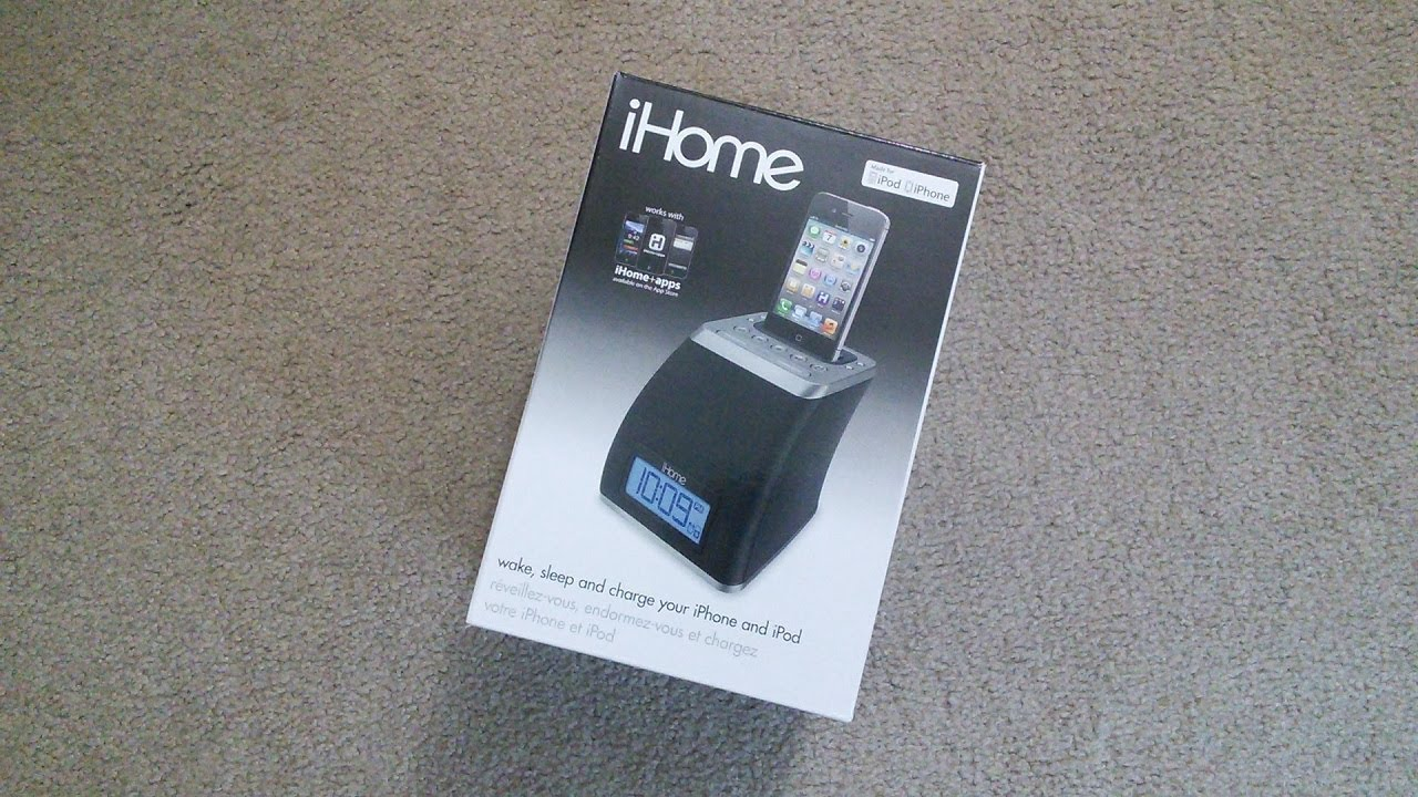 iHome iP21 For iPod/iPhone Unboxing