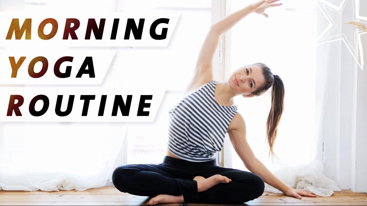 Yoga Morgen Routine Wach Energiegeladen Der Perfekte Start In Den Tag
