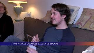 Yvelines | Poissy : une famille créatrice de jeux de société