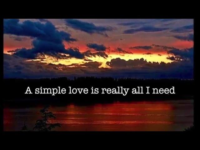 A Simple Love (Lyric video)