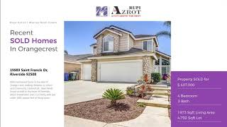 Top realtor for buying a new home in Orangecrest Riverside, 92508