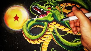 Cómo Dibujar a Shenlong paso a paso - Dragon Ball Z | How to draw Shenlong | ArteMaster