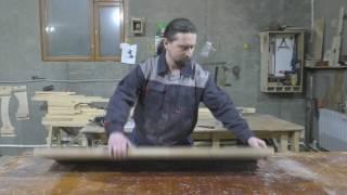 видео Столешница из дерева под заказ
