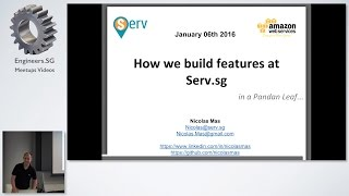 Architecture Highlight: serv.sg - AWS User Group Singapore