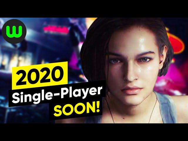 15 MORE Upcoming Single - Player Games for 2020 | whatoplay