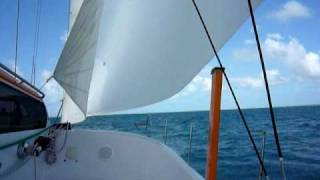 Scape 39'Sport Cruiser Sailing Catamaran.MOV