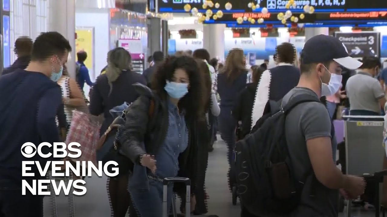 Millions of Thanksgiving travelers returning home amid COVID-19 surge