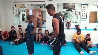 Kung Fu Kids - Chain Punching Test