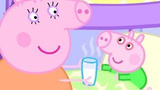 Свинка Пеппа на русском все серии подряд - Джордж простудился - целиком серии - Мультики