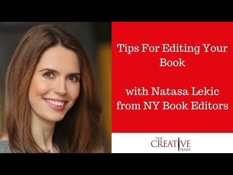 Tips For Editing Your Book With Natasa Lekic From NY Book Editors