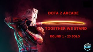 Скачать Dota 2 Arcade Together We Stand SOLO Round 1 23