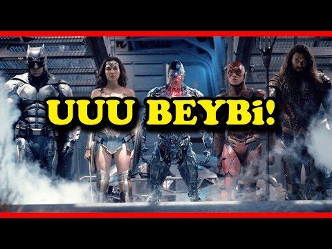 HERKES VAR! | Justice League Türkçe Film Fragman İncelemesi Reaksiyon Gibimsi