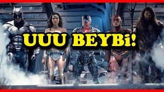 HERKES VAR!   Justice League Türkçe Film Fragman İncelemesi Reaksiyon Gibimsi