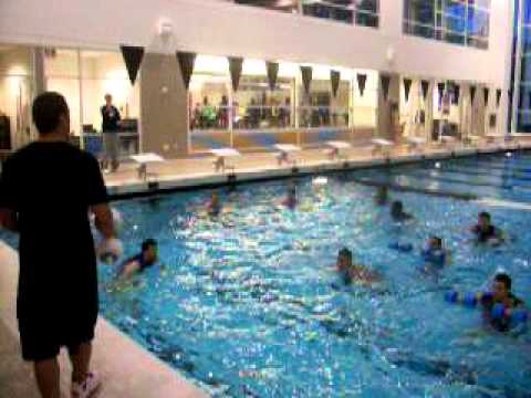 pool workout concordia basketball pool workout at nike campus youtube