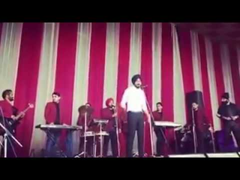 New punjabi Song 2017    Yaar driver    Ranjit Bawa    live show and release song first on stage.