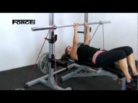 Squat Rack With Adjustable Width Bar - F-SQUAT - Fitness Equipment From Force USA