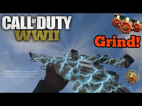 Grinding To Level 1000! - New 2XP Playlists! - Call Of Duty WW2