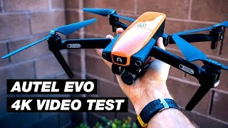 Autel EVO First Flight and Test Footage (4k 60FPS Drone Video)