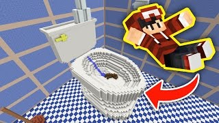 EU CAI NA PRIVADA!!! - MINECRAFT