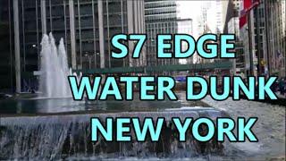 samsung galaxy s7 edge waterproof test vs xperia z5 ip68 underwater nyc