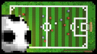 Minecraft: How to make a Soccer/Football Field