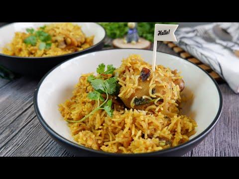 so-good-u-must-try!-rice-cooker-chicken-biryani-印度鸡饭-super-easy-one-pot-/-instant-pot-indian-recipe