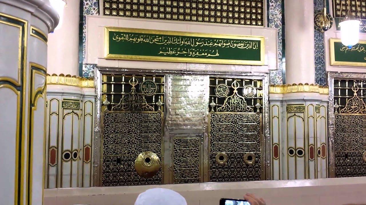 Hd wallpaper masjid - Rawda Mubarak Masjid Al Nabawi 1am 4 15 14 Youtube