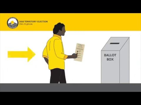How to Vote - NT Optional Preferential Voting (OPV)