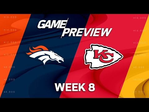 Denver Broncos vs. Kansas City Chiefs | Week 8 Game Preview | NFL Playbook