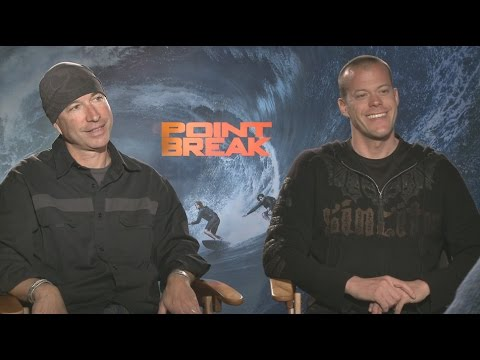 Ericson Core and Jeb Corliss Explain Why 'Point Break' Isn't a Remake