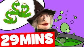 Witch's Stew Song and More | 29mins Halloween Songs Collection for Kids