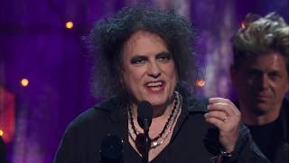 The Cure Acceptance Speech at the 2019 Rock & Roll Hall of Fame Induction Ceremony