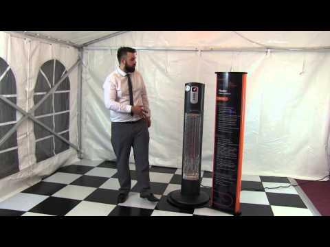 The Technoheater New Patio Heater Technology