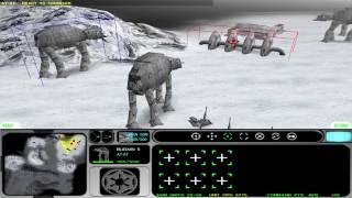 Star Wars: Force Commander (PC): Mission 9: The Battle of Hoth