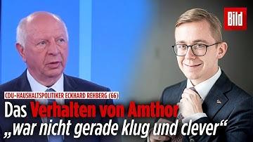 CDU-Politiker fordert Aufklärung von Philipp Amthor